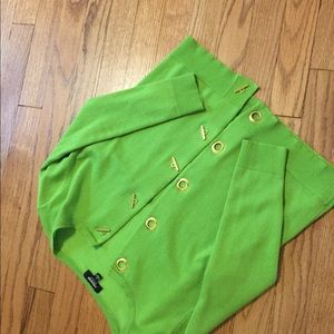 Lime Green Premise Small Cardigan